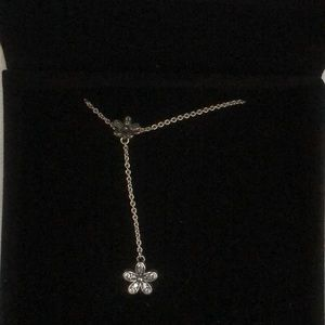 Pandora flower necklace